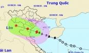 Bão số 2 đang tiến gần bờ biển Thái Bình - Nghệ An, nhiều nơi mưa lớn