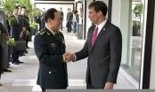Điện đàm căng thẳng giữa Bộ trưởng Quốc phòng Mỹ - Trung