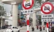Hà Nội cấm xe taxi, xe hợp đồng dưới 9 chỗ ngồi trên một số tuyến đường