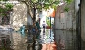 Thảm cảnh những hộ dân Hải Phòng sống trong dự án 'treo' cứ mưa là ngập