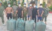 Bắt 4 đối tượng vận chuyển lậu 2.000 gói thuốc lá ngoại