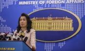 Việt Nam phản ứng việc Trung Quốc thông tin tiến hành bắn tên lửa tại Biển Đông