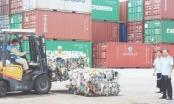 Lực lượng Hải quan kiên quyết xử lý phế liệu tồn đọng tại các cảng biển