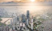 Vẻ đẹp của một Hà Nội hiện đại, sôi động nhìn từ trong mây