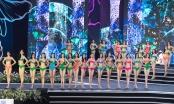 Top 40 Hoa hậu Việt Nam 2020 trình diễn bikini trên sân khấu đêm bán kết