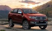 Giá xe ô tô hôm nay 14/10: Ford Everest ưu đãi từ 20 - 75 triệu đồng