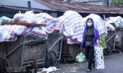 Người dân Nam Sơn tháo gác chắn, xử lý rác ở Thủ đô đã thông tuyến
