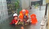 Nhiều làng quê Nghệ An - Hà Tĩnh bị lũ tiếp tục nhấn chìm