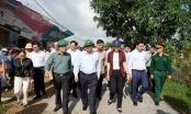 Thủ tướng thị sát, chỉ đạo khắc phục hậu quả bão lũ các tỉnh Quảng Nam, Quảng Ngãi