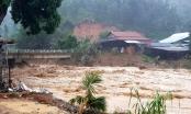 Quảng Nam: Lũ lớn lại đổ về Trà Leng