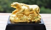 Quà Tết Tân Sửu 2021: 'Sốt' tượng trâu mạ vàng tiền triệu