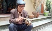 Về Bắc Ninh xem thợ nghề thổi hồn vào những chú trâu đất sét