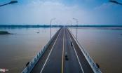 Cây cầu 1.500 tỷ đồng kết nối Hà Nội với Phú Thọ trước ngày thông xe