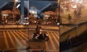 Hai nhóm giang hồ hẹn nhau hỗn chiến trên cầu Nhị Thiên Đường