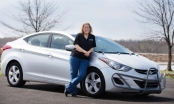 Người phụ nữ lái Hyundai Elantra chạy được 1,6 triệu km trong 5 năm