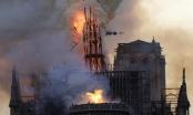 Hình ảnh quốc tế ấn tượng trong tuần: Ngọn lửa hung bạo bao trùm nhà thờ Đức Bà Paris