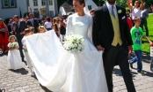 Hình ảnh quốc tế ấn tượng: Đám cưới như trong cổ tích của hoàng tử Đức và người mẫu Mỹ