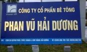 Công ty bê tông Phan Vũ Hải Dương xả nước thải vượt chuẩn bị tỉnh Hải Dương phạt nặng