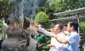 Vẹn nguyên cảm xúc trong ngày đầu chuyến đi tri ân tháng 7 của Báo Pháp luật Việt Nam