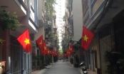 Thủ đô Hà Nội rợp cờ đỏ trước ngày Quốc khánh