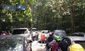 Vườn Quốc gia Cúc Phương  tắc đường trong dịp nghỉ lễ