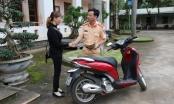 Đắk Nông: Cảnh sát giao thông trả xe bị mất cắp cho người dân
