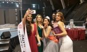 Tân Hoa hậu Hoàn cầu 2017 - Khánh Ngân hạnh phúc trong vòng tay bạn bè quốc tế