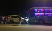 Hà Tĩnh: Nghi ngáo đá đi ngược chiều tài xế xe 7 chỗ đâm thẳng đầu xe khách