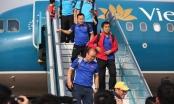 Đội tuyển Việt Nam về nước trong sự chào đón hân hoan của người hâm mộ