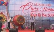 Hà Tĩnh: Tưng bừng khai hội chùa Hương Tích 2019