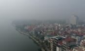 [Flycam]: Ngắm Thủ đô mờ ảo trong sương mù ngày 19/12