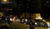 Hà Nội: Xe tải ngang nhiên chạy giờ cấm, vượt mặt Đội CSGT số 7