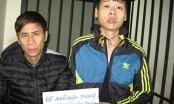 Hà Nội: Bắt hai đối tượng nghiện ma túy rủ nhau đi cướp