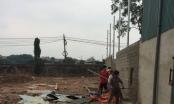 Phá dỡ công trình xây dựng không phép tại phường Tây Tựu