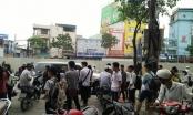Điểm dừng đón xe bus ở Hồ Tùng Mậu - Mai Dịch như bến xe cóc