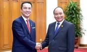Thủ tướng Nguyễn Xuân Phúc tiếp Thống đốc tỉnh Mie - Nhật Bản