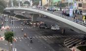 Cầu vượt trăm tỷ trên đường đắt nhất Thủ đô thông xe