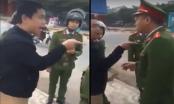 Phú Thọ: Nam thanh niên lăng mạ, dọa đánh cảnh sát trật tự khi vi phạm giao thông