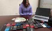 Hà Nội: Tú bà điều gái với 30 chiếc điện thoại di động