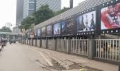 Trung tâm chiếu phim Quốc gia ngang nhiên xẻ thịt vỉa hè để xây dựng bãi xe trái quy định