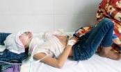 Quảng Ninh: Dạy con bằng xăng, 2 bé trai bỏng nặng