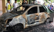 Nghi án CSGT Hải Phòng bị đốt xe ô tô ngay trước cổng trụ sở