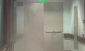 Lửa bùng phát tại Bệnh viện Nhi Trung ương, bệnh nhân hốt hoảng sơ tán trong đêm