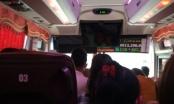 Nhà xe Thu Thắng chở quá số người quy định, chạy sai luồng tuyến để né chốt CSGT trên cao tốc Nội Bài - Lào Cai