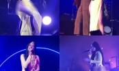 Cộng đồng mạng nổi đóa với nữ ca sĩ người Mỹ mặc áo dài không mặc quần khi biểu diễn