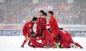 Nóng: Cầu vồng tuyết của Quang Hải trở thành biểu tượng U23 châu Á