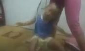 Dân mạng phẫn nộ với Clip người phụ nữ lấy dây thừng buộc cổ, đánh bé trai ở Bình Dương