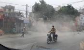 Hà Nội: Dân kêu trời vì đơn vị thi công QL32 đoạn huyện Ba Vì coi thường sức khỏe người dân