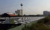 Công ty CP xây dựng đô thị Phú Thành xẻ thịt đất dự án làm bãi trông giữ, tập kết xe không phép?