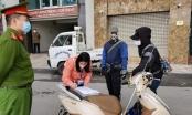 Xử phạt tại chỗ 3 trường hợp ra đường khi không cần thiết tại quận Ba Đình